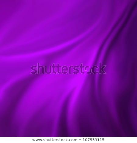 paars · satijn · materiaal · mode · ontwerp · weefsel - stockfoto © frannyanne