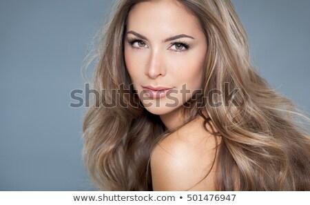 eredeti · tökéletesség · izolált · portré · fiatal · haj - stock fotó © gromovataya