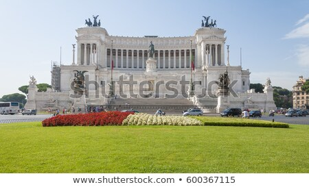 Vittorio Emanuele monument, Rome Stock photo © joyr