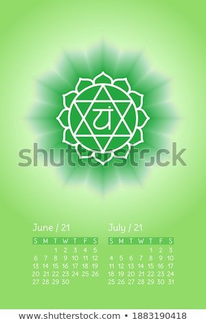 Calender Sign Green Vector Icon Design Stock photo © rizwanali3d