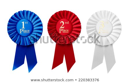 prize ribbon isolated Stock photo © willeecole