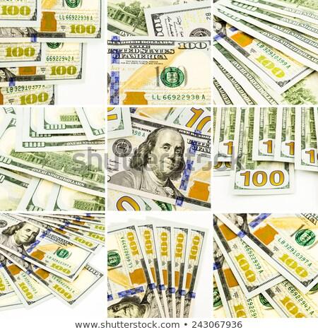 Grup iş finanse para toplama Stok fotoğraf © vinnstock