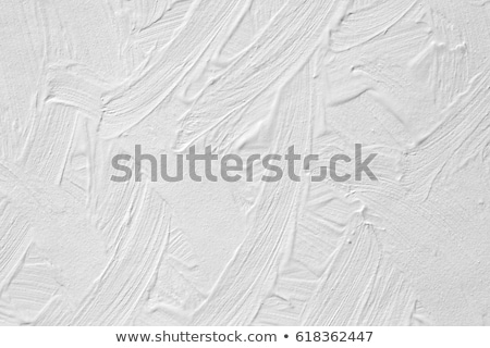 Rough weathered white paint texture. Stock photo © latent