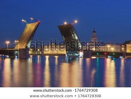 exchange bridge illuminated stock photo © maxsol7