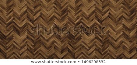 Herringbone Parquet Dark Floor Pattern Stock photo © Voysla