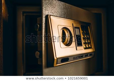 Chambre d'hôtel sécurité dépôt boîte électronique broches Photo stock © stevanovicigor