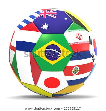 Brazília világ csésze 2014 csoport futball Stock fotó © Oakozhan