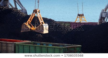 石炭 ポート 海 倉庫 ストレージ 海岸 ストックフォト © papa1266