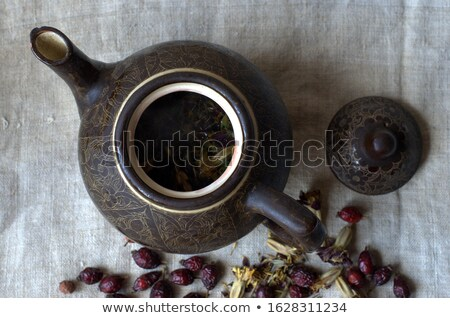 pot with rose hips Stock photo © IS2