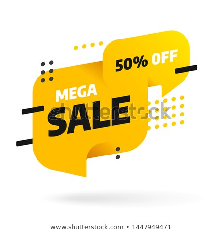 Store Sellout or Shop Sale Special Offer Banner Stock photo © robuart