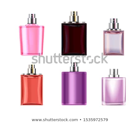 Foto stock: Perfumery Products, Toilet Water Mockup Vector Set