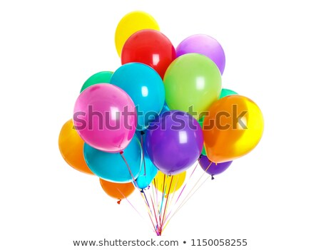 A balloon on white background Stock photo © bluering