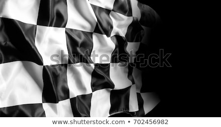 checkered racing flag sports background Stock photo © SArts