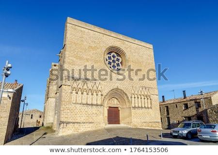 Fortezza Spagna mezzo età castello Foto d'archivio © borisb17
