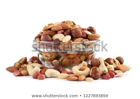 вкусный · орехи · белый · зрелый · изолированный - Сток-фото © lypnyk2