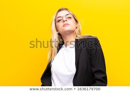Cheeky female Stock photo © lovleah