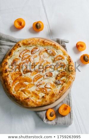 Tarta frescos postre dulce dieta saludable Foto stock © M-studio