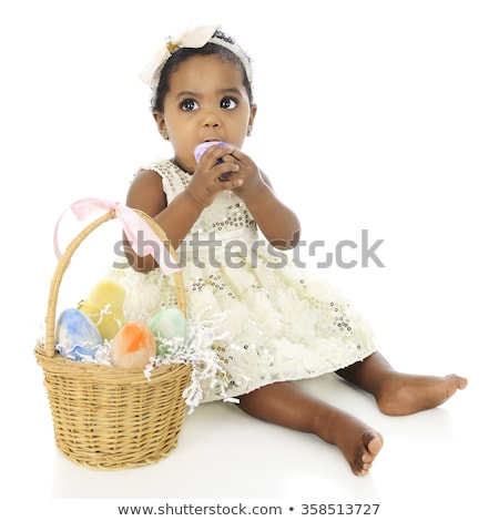 black baby dress with sequins Stock photo © RuslanOmega