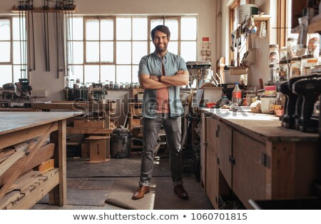 Tradesman with his arms crossed Stock photo © photography33