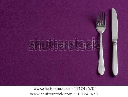 purple table service Stock photo © philipimage