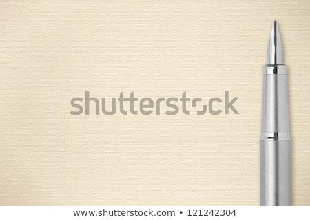 caneta · folha · vetor · arte · eps · formato - foto stock © loopall