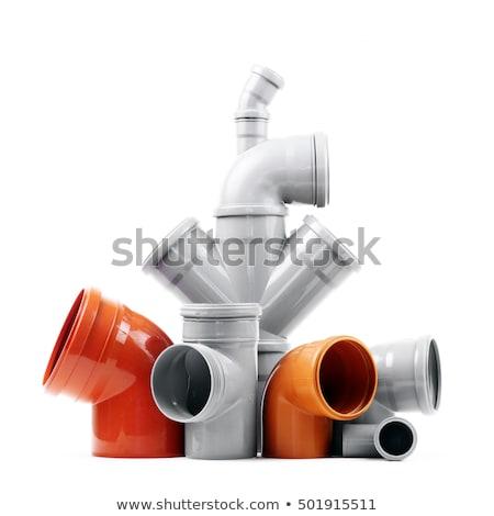 vektor · férfi · dohányzás · dohány · cső · iroda - stock fotó © bluering