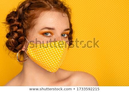 autentikus · nő · portré · közelkép · portré · szép · nő - stock fotó © anna_om