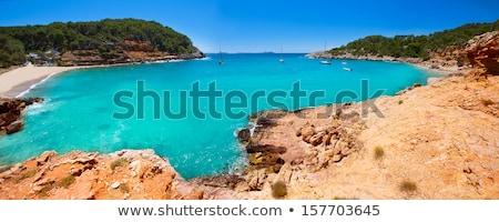 Ibiza Cala Salada and Saladeta in Balearics Stock photo © lunamarina
