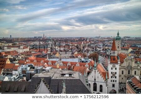 антенна панорамный мнение исторический Мюнхен Сток-фото © artjazz