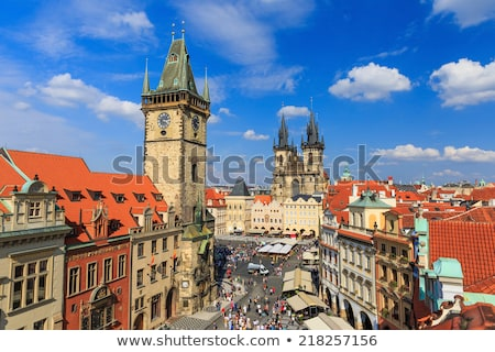 Tyn Cathedral in Prague Stock photo © rognar