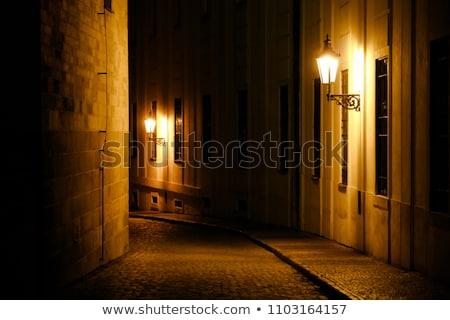 gas lantern prague Stock photo © courtyardpix