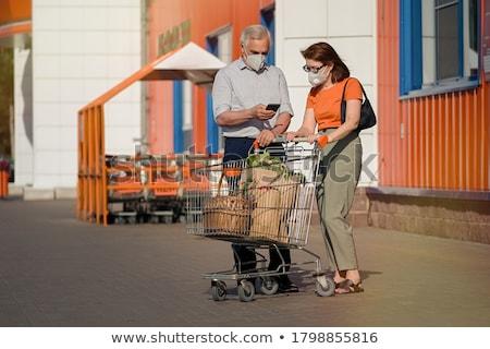 Senior couple in a shop Stock photo © photography33