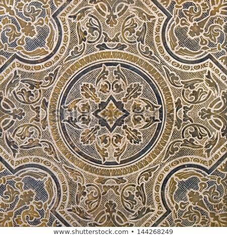 tiles panel old lisbon stock photo © ribeiroantonio