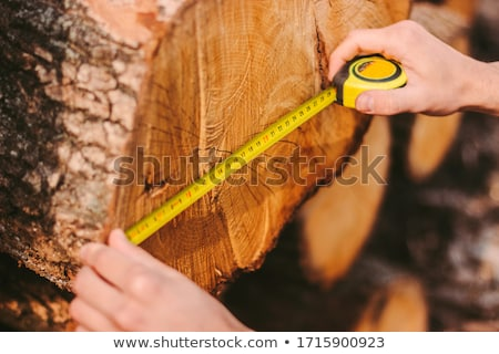 Man using a measuring tape Stock photo © photography33