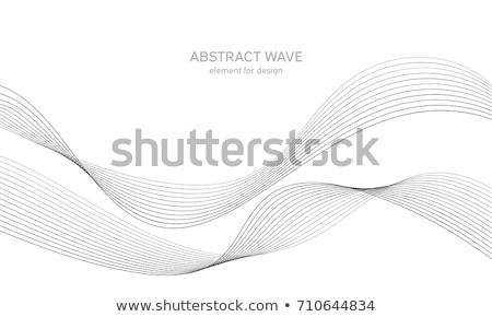 abstract wave smoke stock photo © arcoss