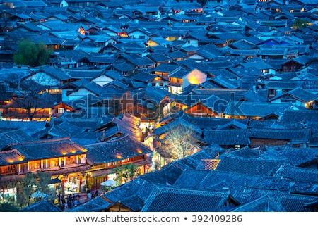 Old Town Lijiang Yunnan Province China Stock photo © billperry