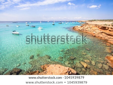Ses Illetes Beach in Formentera, Balearic Islands, Spain Stock photo © nito