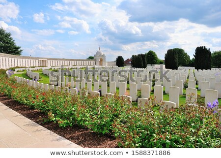 Stock photo: India In Flanders Fields Monument In Ypres