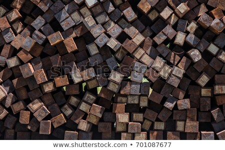 railway tie background Stock photo © willeecole