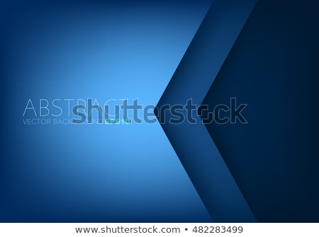 Modernes web bannières triangle sombre ombre Photo stock © liliwhite