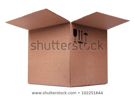 open carboard box stock photo © cherezoff