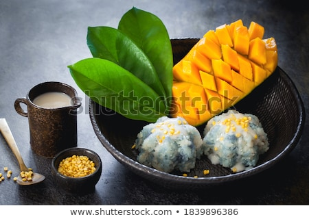 Mango donkere een vruchten mooie balk Stockfoto © cosma