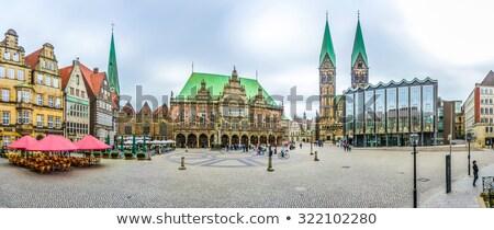 tower of St. Petri dome in Bremen  Stock photo © meinzahn