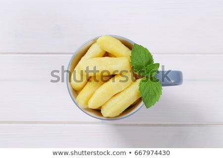 potato cones or gnocchi Stock photo © Digifoodstock