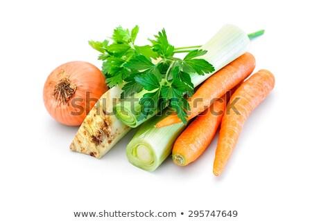 лук морковь продовольствие природы Сток-фото © OleksandrO