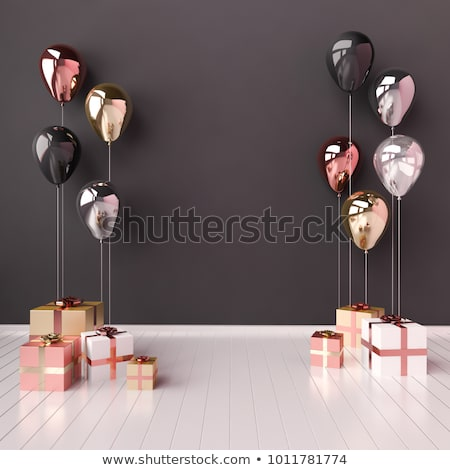 Mirror image of a balloon Stock photo © mobi68