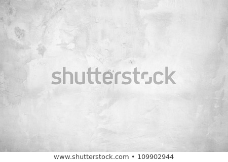 Stock photo: Vintage grungy white background of natural cement