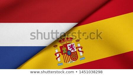 Spanje vs Nederland groep fase wedstrijd Stockfoto © smocker03