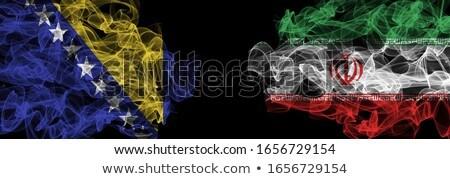 BOSNIA vs IRAN Stock photo © smocker03