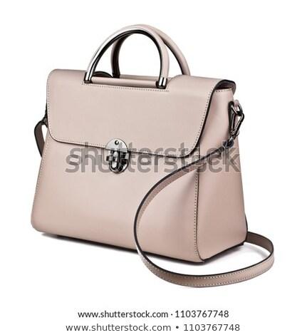 Luxury female handbag isolated on white background  Stock photo © natika